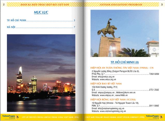 Danh sách các hiệp hội ở Việt Nam 1