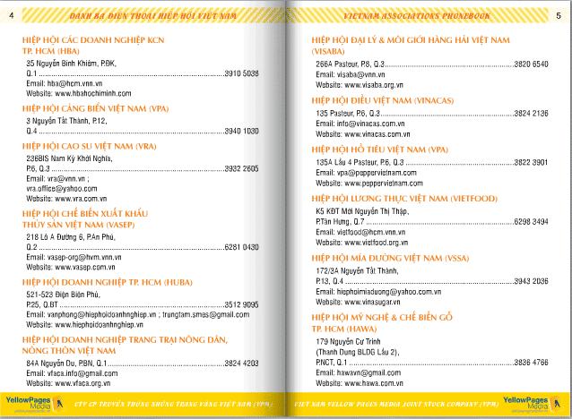 Danh sách các hiệp hội ở Việt Nam 2