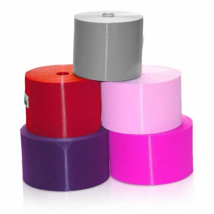 gai nhựa màu bản lớn 10cm/ bán theo mét sản phẩm gai nhựa rộng 100 mm dài 1.0 mét Chất liệu :Nylon/Polyester Xuất xứ : trung quốc