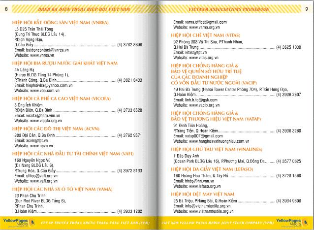Danh sách các hiệp hội ở Việt Nam 4