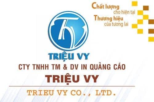 CTY TNHH TMDV IN QUẢNG CÁO TRIỆU VY