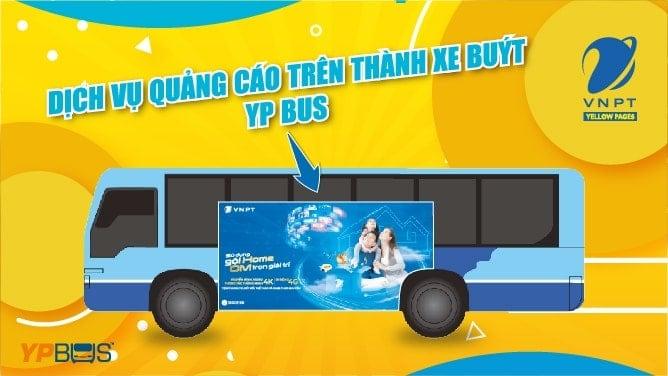 Quảng cáo trên thành xe buýt