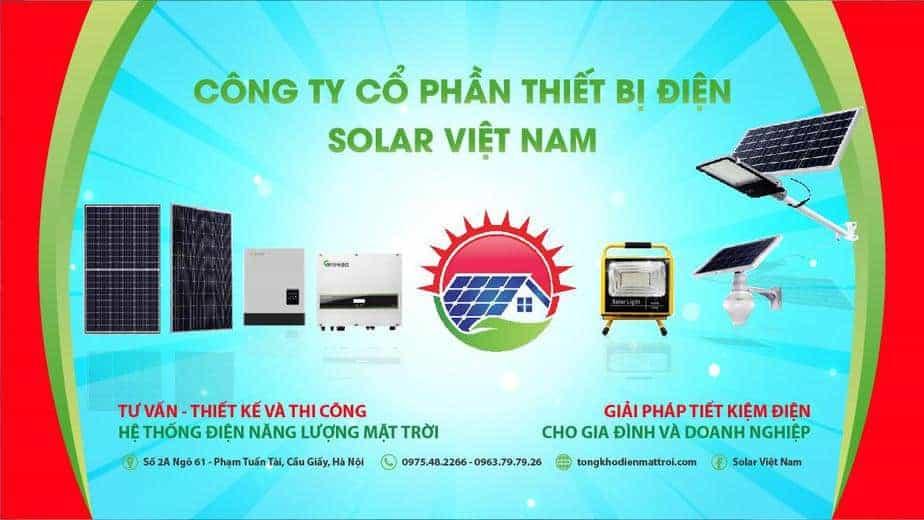 Công Ty Cổ Phần Thiết Bị Điện Solar Việt Nam