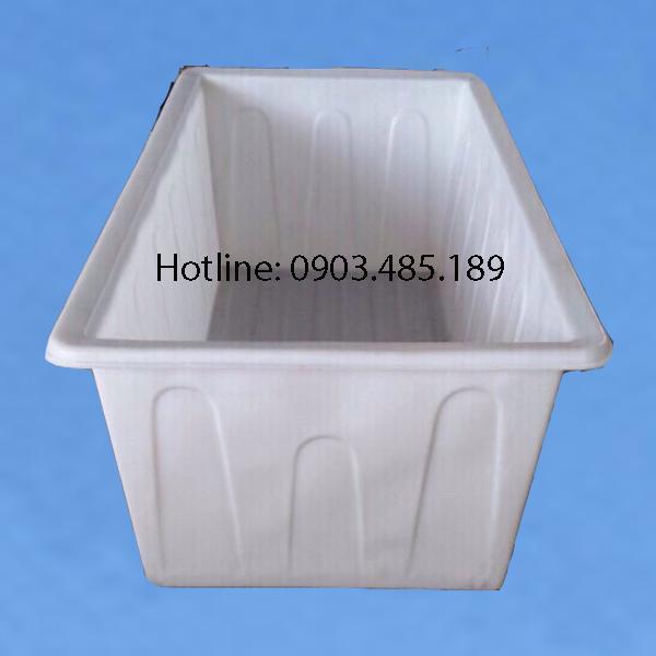 thung-nhua-dung-tich-lon-1200-lit-mau-trang-kt2000-x-1100-x-720-mm