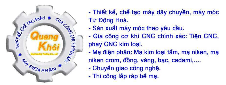 Công Ty TNHH Thương Mại Kỹ Thuật Quang Khôi