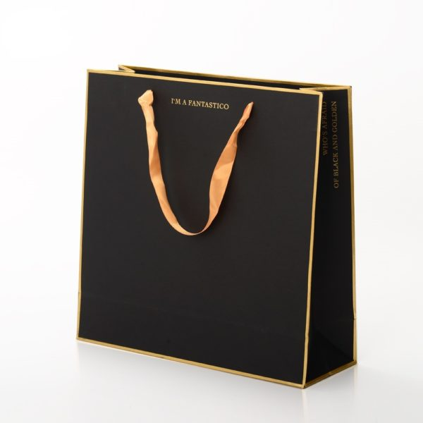 Luxury-Custom-Brand-Name-Logo-Gold-Foil-Stamping-Gift-Packaging-Black-Craft-Carry-Paper-Shopping-Bag-with-Ribbon-Handle-600x600