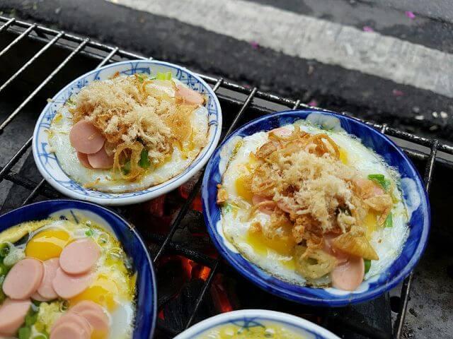 Trứng chén nướng Nguyễn Quang Bích