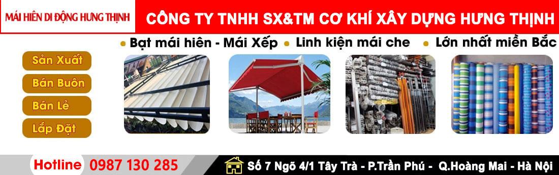 CÔNG TY TNHH SX & TM CƠ KHÍ XÂY DỰNG HƯNG THỊNH