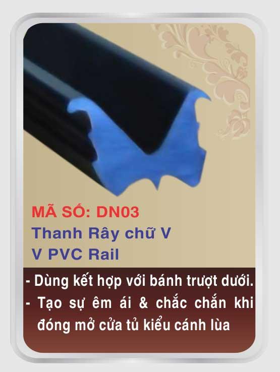 THANH RAY CHỮ V