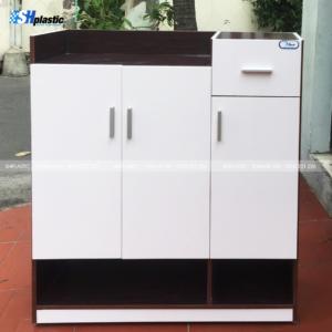 Tủ-giày-nhựa-cao-cấp-3-cánh-1-ngăn-kéo-liền-kệ-SHPlastic-TG25-300x300
