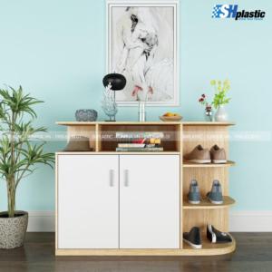 Tủ-giày-nhựa-cao-cấp-liền-kệ-trang-trí-SHPlastic-TG18-300x300