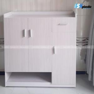 tủ-giày-nhựa-3-cánh-1-ngăn-kéo-liền-kệ-trang-trí-SHPlastic-TG27-vân-gỗ-MT-300x300